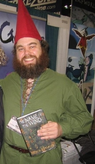 Patrick Rothfuss is really gnome