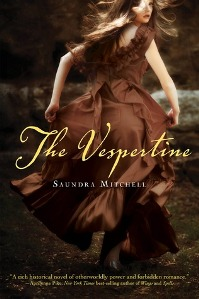 The Vespertine by Saundra Mitchell Book Cover