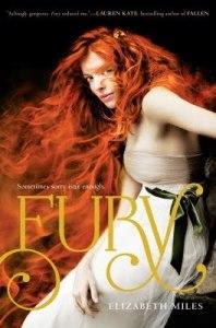 Fury by Elizabeth Miles Book Cover