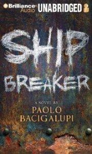 Ship Breaker, Paolo Bacigalupi, Book Cover