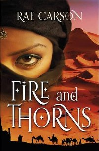 The Girl Of Fire And Thorns by Rae Carson UK Cover
