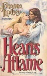Hearts Aflame, Fabio Cover, Johanna Lindsey, 1980s romance
