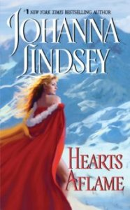 Hearts Aflame, Johanna Lindsey, Book Cover