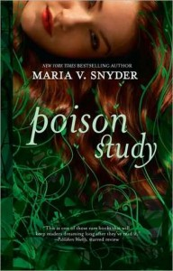 Poison Study, Maria V Snyder, Book Cover, Green