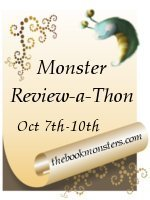 Reviewathon, the book monsters, graphic