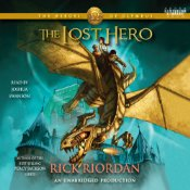 The Lost Hero, Rick Riordan, Book Cover, Audiobook, Festus