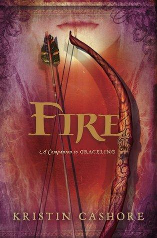 Fire, Seven Kingdoms, Kristan Cashore, Book Cover