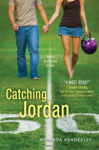 Catching Jordan, Miranda Kenneally, Book Cover,  football