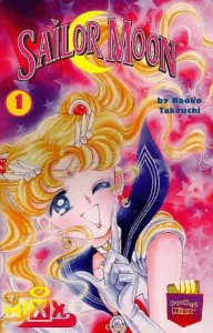 Sailor Moon, Manga, Vol 1, Naoko Takeuchi, Book Cover