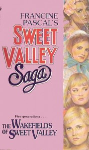 The Wakefields Of Sweet Valley, pink, Francine pascal, book cover