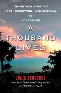 A Thousand Lives, Julia Scheeres, Book Cover