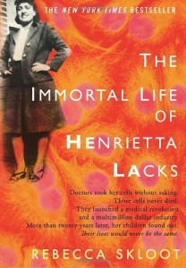 The Immortal Life Of Henrietta Lacks, Rebecca Skloot, Book Cover