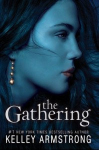 The Gathering, Kelley Armstrong, Book Cover, blue, Maya Davidson