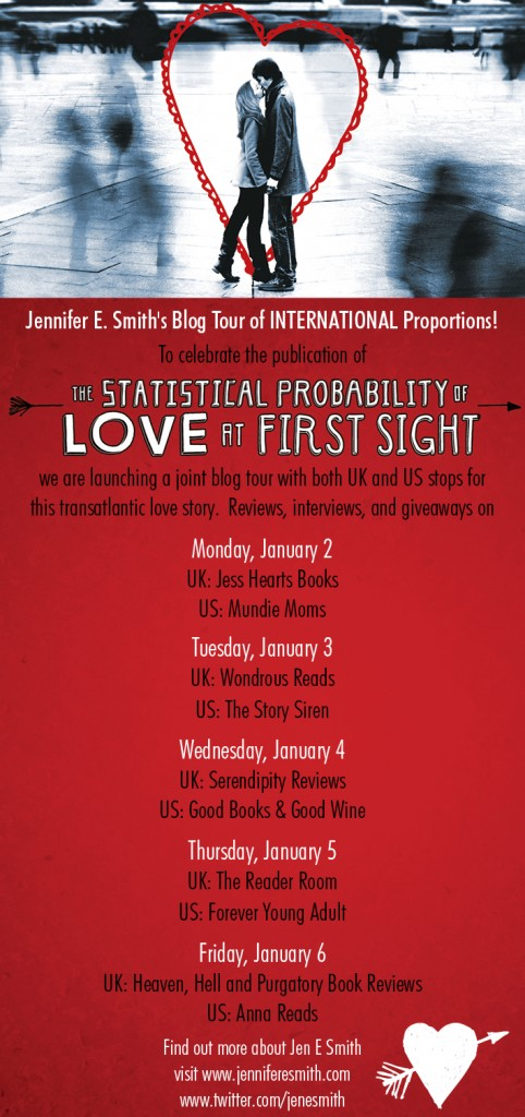 Button for the Statistical Probability Of Love At First Sight Blog Tour
