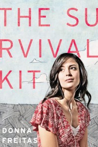 The Survival Kit Donna Freitas Book Review Cover