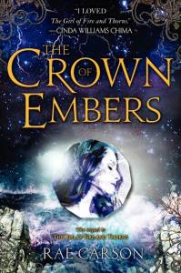Peek A Cover: The Crown Of Embers by Rae Carson