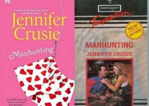 Manhunting Jennifer Crusie Cover Comparison