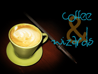 Coffee And Wizards Book Blog Button