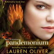 Pandemonium Lauren Oliver Audiobook Cover