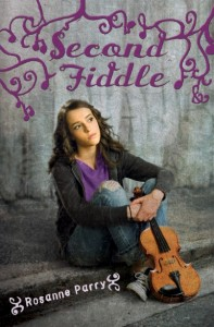 Second Fiddle Rosanne Parry Book Cover