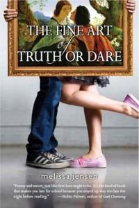 The Fine Art Of Truth or Dare Melissa Jensen Book Cover