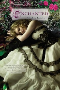 Enchanted Alethea Kontis Book Cover