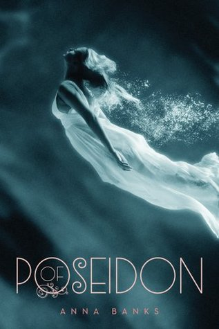 Of Poseidon Anna Banks Book Cover