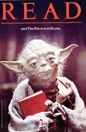 Read And The Force Is With You Yoda