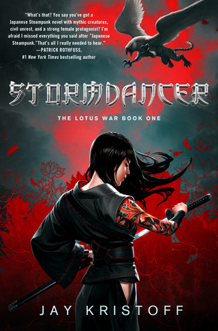 Stormdancer Jay Kristoff Book Cover