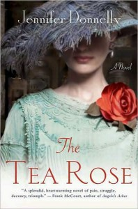 The Tea Rose Jennifer Donnelly Book Cover