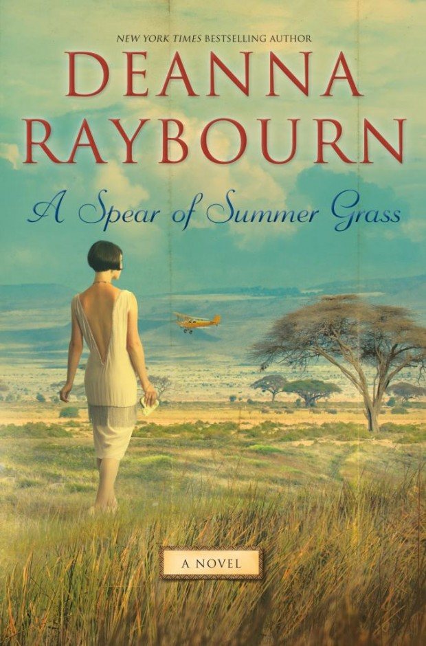 A Spear of Summer Grass Deanna Raybourn Book Cover