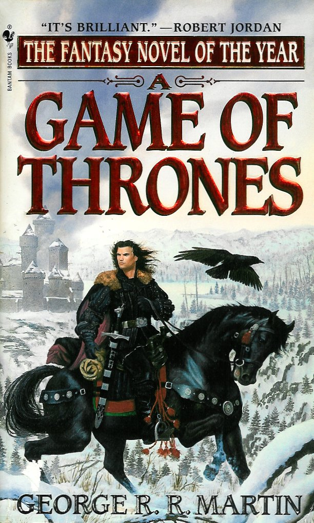 A Game Of Thrones George RR Martin Book Cover