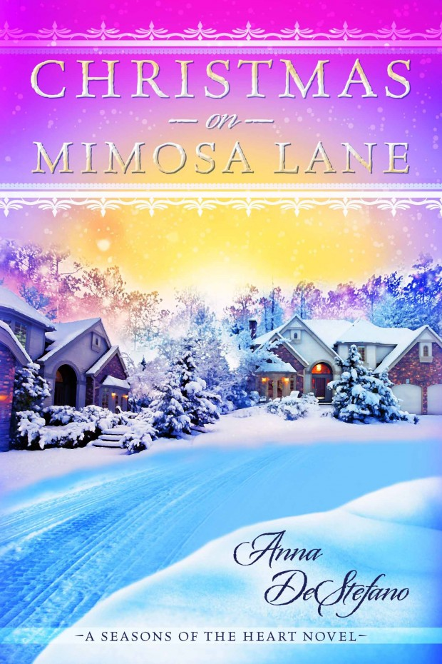 Christmas On Mimosa Lane Anna DeStefano Book Cover