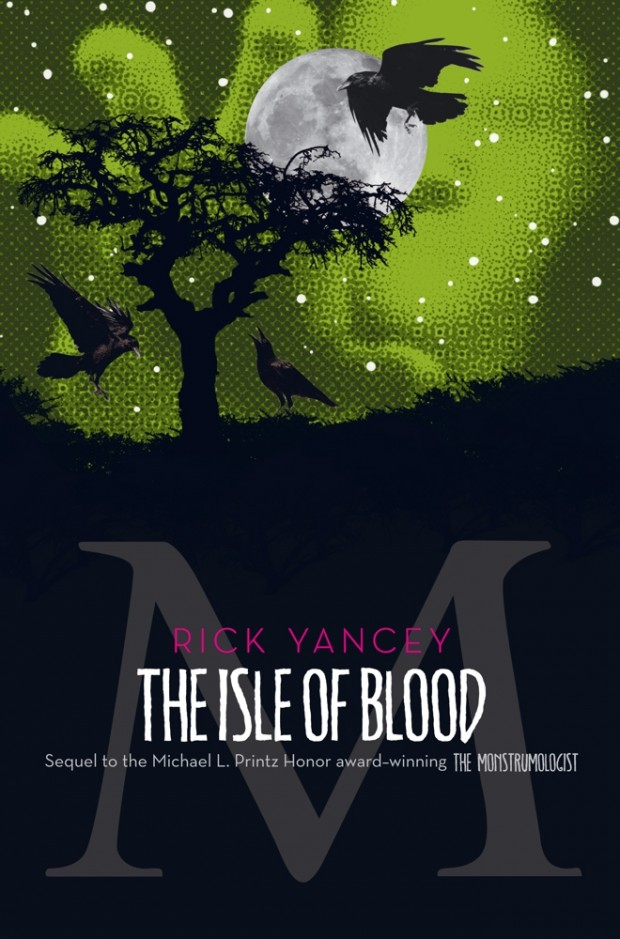 The Isle Of Blood Rick Yancey Book Cover