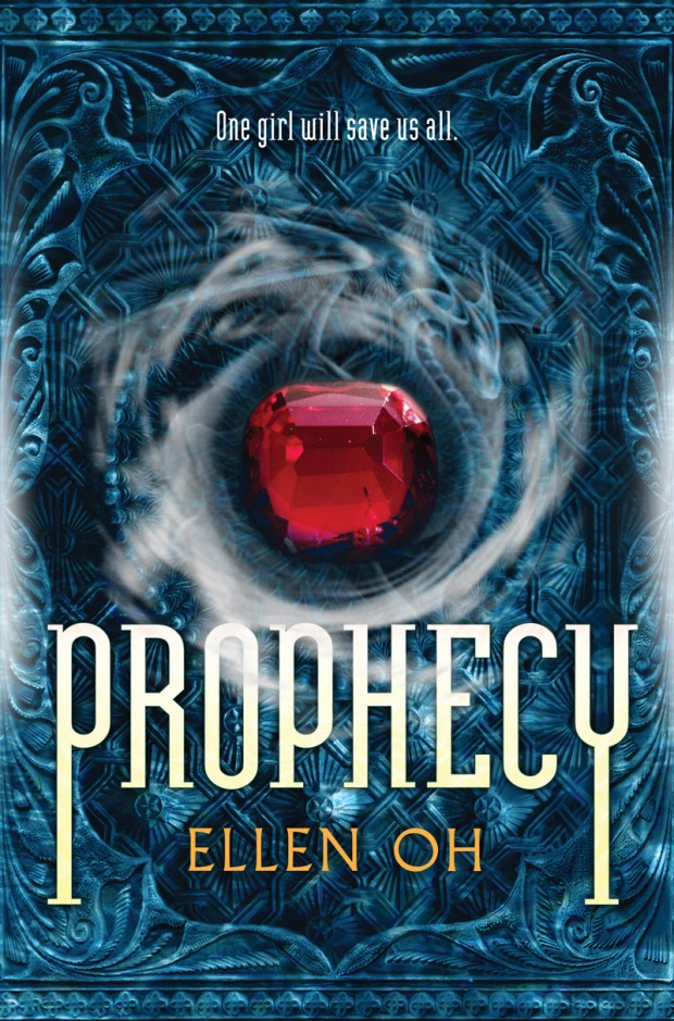 Prophecy Ellen Oh Book Cover
