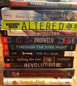 Bout Of Books Pile
