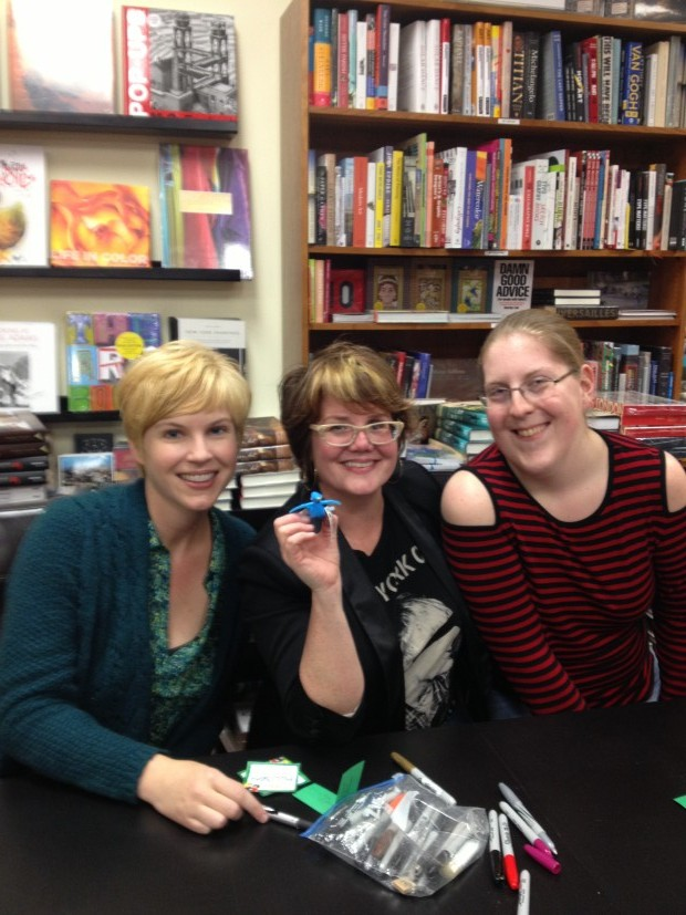 Allison with Gwenda Bond and Libba Bray | Good Books And Good Wine
