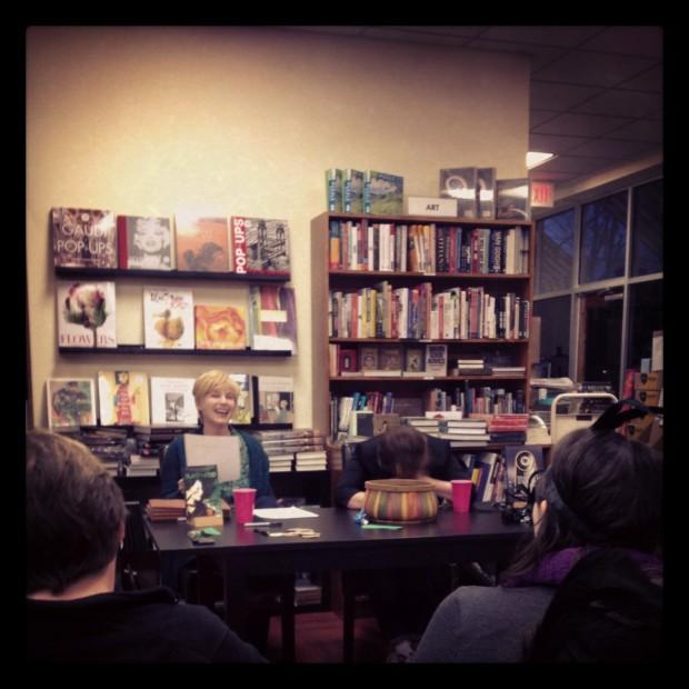 Gwenda Bond and Libba Bray reading | Good Books And Good Wine
