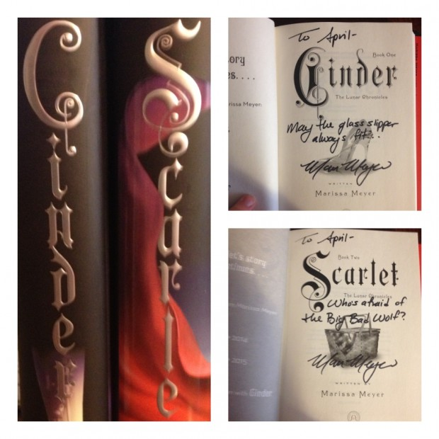 Signed Marissa Meyer Books | Good Books And Good Wine