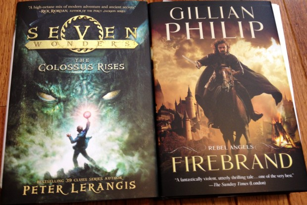 Seven Wonders: The Colossus Rises by Peter Lerangis; Firebrand by Gillian Philip | Good Books And Good Wine