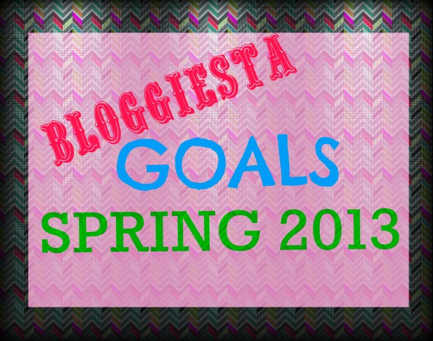 Bloggiesta Goals | Good Books And Good Wine
