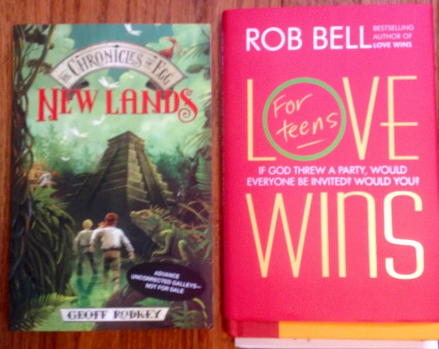 New Lands and Love Wins | Good Books And Good Wine