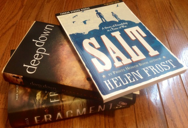 Salt by Helen Frost Stacking The Shelves | Good Books And Good Wine