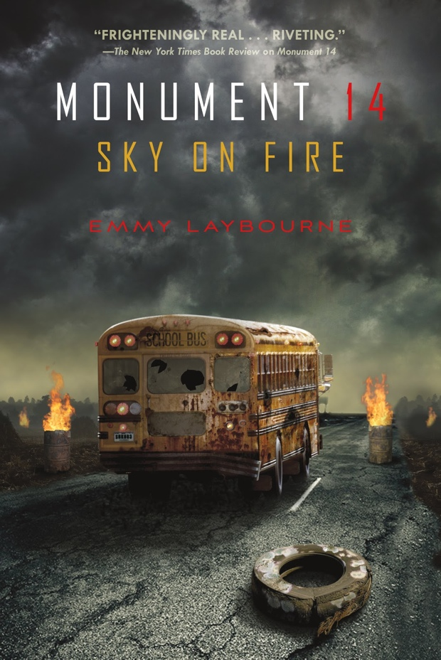 Sky On Fire by Emmy Laybourn | Good Books And Good Wine