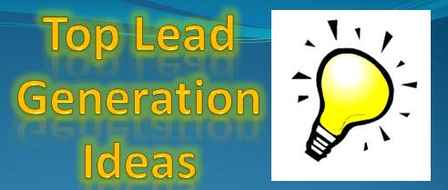 Top Lead Generation Ideas