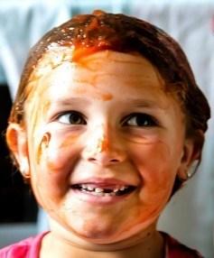 Mikayla Burns, ketchup remedy for chlorine damaged hair