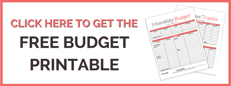 Money's not looking so hot? You still need a budget! Here's how to create a budget when you are broke. (Free budget printable included!)