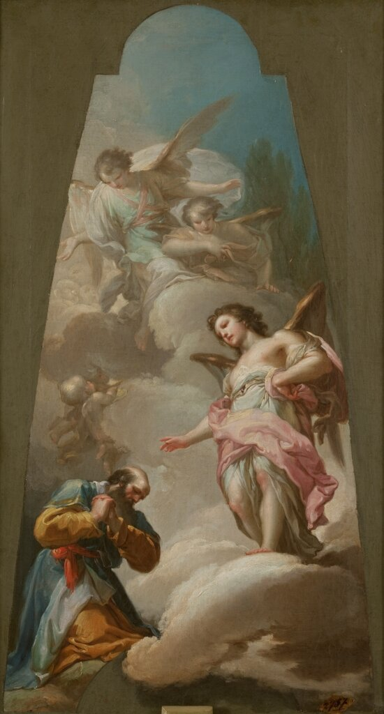 Abraham and the Three Angels by Francisco Bayeu