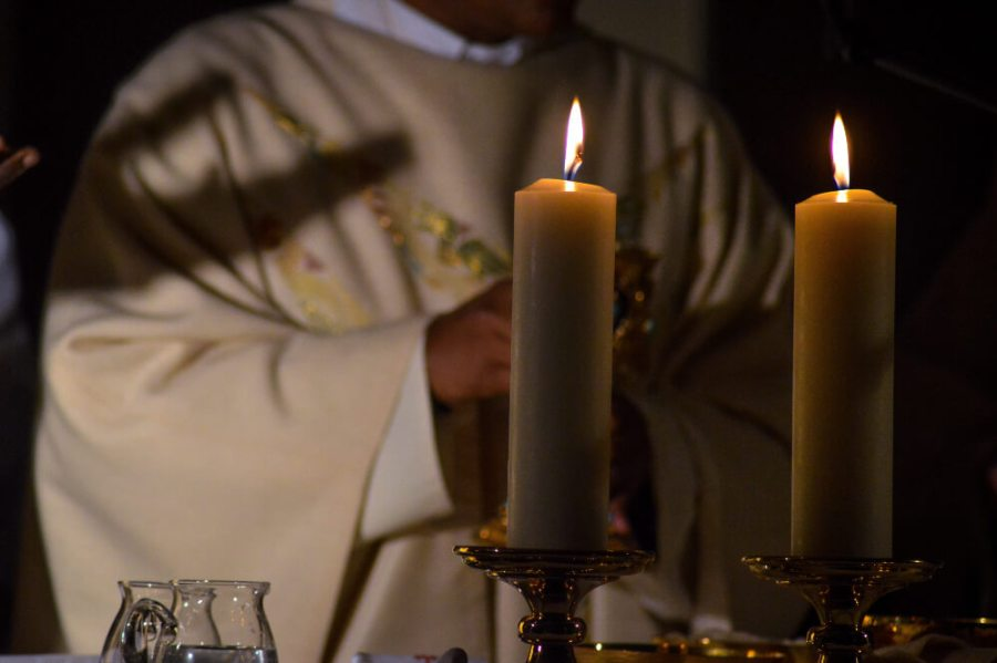 The offering at Holy Mass
