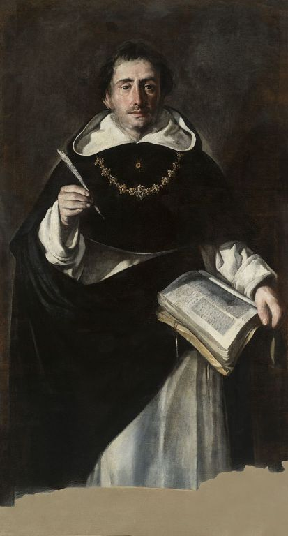 Portrait of St. Thomas by Antonio del Castillo y Saavedra
